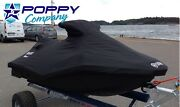 2014 - 2018 Seadoo Spark 3 Seater Pwc Cover Fitted Blacktrailerable 3up