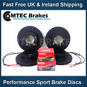 Porsche Boxster 986 2.7 99-04 Front Rear Brake Discs And Pads And Wear Sensors X 4