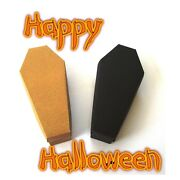 Coffin Favour Box, Gothic Wedding. Trick Or Treat Halloween Box For Sweets
