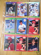 Baseball Card Lot Of 9 Different Players In Plastic Sleeve