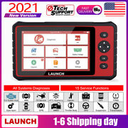 2021 Launch Crp909 Auto Diagnostic Tool Obd2 Car Scanner All System As Mk808 Us