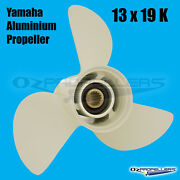 13 X 19 K For Yamaha Prop Propeller New Aluminium Suits 50-140hp Outboards