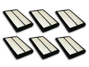Air Filter Af5248 For 1999 2000 2001 2002 Honda Accord 2.3l Only Package Of 6
