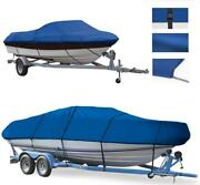 Boat Cover Fits Smoker Craft 162 Pro Angler Windshiled Ptm O/b 2007-08