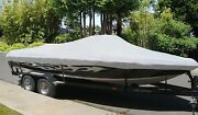 New Boat Cover Fits Century 2100 Dual Console Windshield Bow Rails O/b 1998-2002
