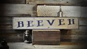 Custom Distressed Family Cafe Sign - Rustic Hand Made Vintage Wooden