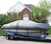 Great Boat Cover Fits 23and039-25and039 V-hull Cuddy Cabin Boat Up To 102 Beam