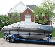 Great Boat Cover Fits Alumacraft Crappie Dlx Ptm Tiller O/b 1993-2006