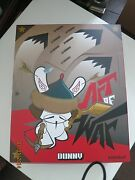 Sealed Case Kid Robot Dunny 2014 Art Of War Case Special Not Included
