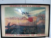 Ww1 French Poster Signed H. Richard-gutz Paris 1916