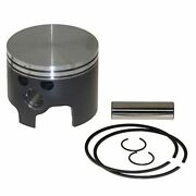 Nib Mercury 2.5l Vertex Piston Kit Std. Stbd Top Guided Bore 3.500 V2500s