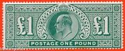 Sg. 266. M55. Andpound1.00 Dull Blue - Green. A Super Unmounted Mint Example.