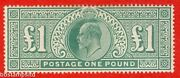 Sg. 266. M55. Andpound1.00 Dull Blue - Green. A Super Unmounted Mint.