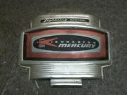 Used Mercury Outboard Front Cowling Face Plate Chrome Red Stripe 2 Cyl 40 Hp