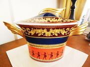 Versace China Rosenthal Germany Iconic Heroes Soup Tureen - New