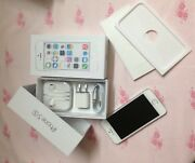 Brand New Apple Iphone 5s 16gb Silver And White Gsm Factory Unlocked Clean Imei
