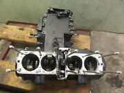 Kawasaki Zx600a Motor Engine Bottom End For Parts Only Locked Up
