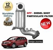 For Dodge Journey 2.0 Crd 2008-4/2011 New Dpf Diesel Soot Particulate Filter