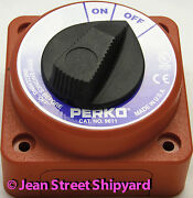 2 Position Battery Selector Disconnect Switch Boat Marine Power Perko 9611dp