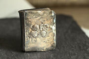 Antique English Miniature Book Of Common Prayer Silver Cover W/ Angels C1905