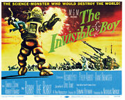 The Invisible Boy - 1957 - Movie Poster