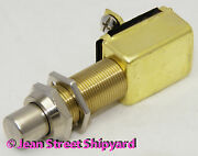 Marine Boat Rv Tractor Push Button Switch Off / Momentary On Horn Starter 11781