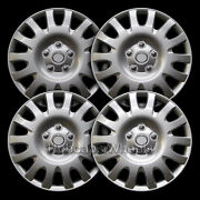 Universal Silver 16andquot Hubcap - All Years - Set Of 4 - 61116