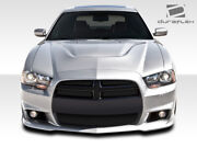 Duraflex Srt Look Front Bumper Cover 1 Piece For Charger Dodge 11-14 Ed_108