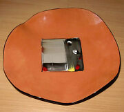 Studio Art Pottery Modern Beckwith Footed Plate 2002 Petaluma InteriorScapes