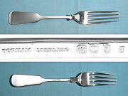 Gorham Sterling 7 3/4 Extra Weight Forks Old English Tipt No Mono
