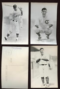 Lot Of 34 Different 1970's Rowe Photo Postcards Chicago Cubs Old Timers Ex-mt+