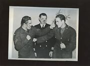 Original November 5 1944 Jack Dempsey And Billy Conn In Military Boxing Wire Photo