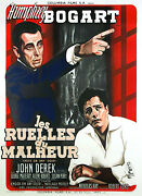 Knock On Any Door - Original French Poster - Very Rare