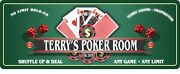 Personalized No Limit Hold-em Poker Sign Man Cave Plaque Game Room Decor