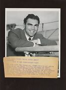 Original August 18 1937 Max Schmeling In New York Boxing Wire Photo