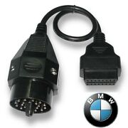 Bmw Obdii Round Diagnostic Scanner Adapter 20 Pin We Are Out Of Stock