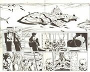 Avengers 14 Pg 6and7 Dps - Black Widow, Nick Fury, And Others - Art By Tom Grummett