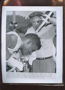 Original August 13 1957 Floyd Patterson Trains Boxing Wire Photo