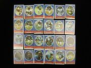 Lot Of 24 New York Giants 1972 Sunoco Stamps