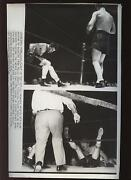 Original Sept 6 1940 Billy Conn Knocks Out Bob Pastor Bout Boxing Wire Photo