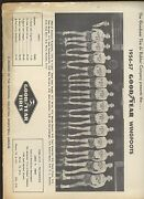 1956/57 National Industrial Basketball League Media Guide Goodyear Tire And Rubber
