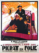 His First Car - Original French Poster - Very Rare