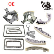 Timing Chain Kit With Chain Ternsioners For Audi 2.4l V6 3.2l Oem