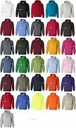 50 Gildan Heavy Blend Hooded Hoodie Sweatshirt 18500 S-xl Wholesale Lot Of 50