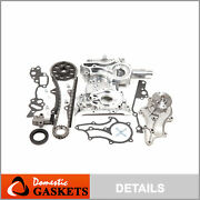 85-95 Toyota 2.4l Timing Chain Kitsteel Guidestiming Coverandwater Pump 22r 22re