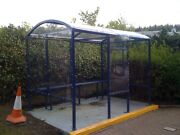 Four Sided Smoking Shelter