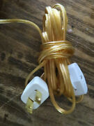 20and039 Electrical Part Cord Switch Plug Set For Hanging Swag Plugin Lamp Chandelier