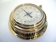 Victory Ba627 Thermometer / Hygrometer Brass 4 100mm Dial From Germany 135-236