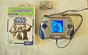 Leapfrog Leapster L-max Blue Handheld System And Free Educational Games