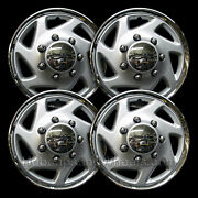 Universal Silver/chrome Truck/van 15andquot Hubcap - All Years - Set Of 4 - 94-15